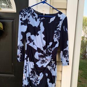 Floral professional dress